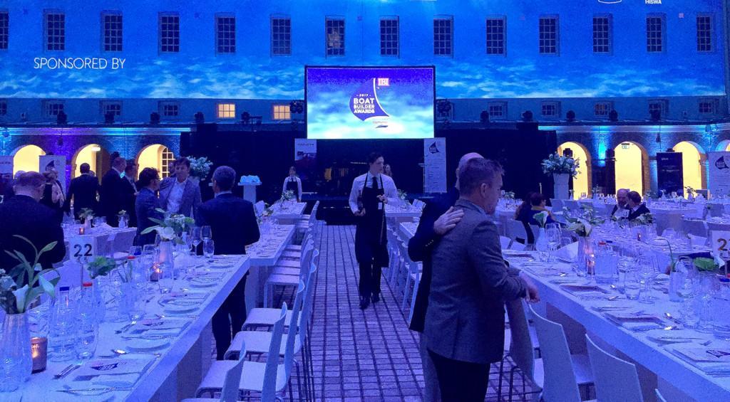 Boat Builder Awards stage
